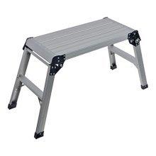 Silverline Step-up Platform 150kg Capacity - Stepup 640000 Work Aluminium -  platform silverline capacity stepup 150kg 640000 work aluminium