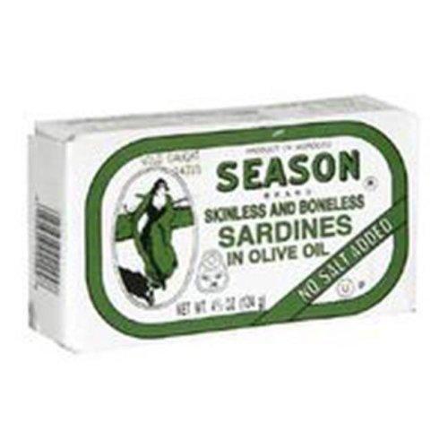 Sardine Nsa Sknl Bnls Oil -Pack of 12