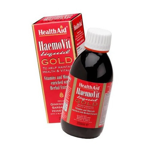 Healthaid Haemovit  Liquid Gold Tonic Liquid 200ml