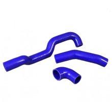 DEFENDER 90 110 TERRAFIRMA SILICONE INTERCOOLER HOSE KIT BLUE TF742LATE 2.2 PUMA