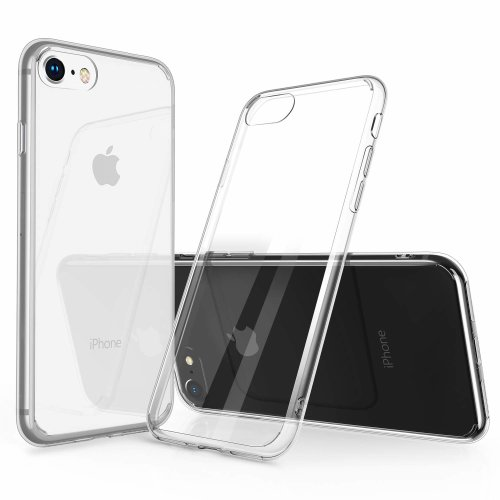 sale retailer 98071 b6c19 Humixx iPhone 8 Case, iPhone 7 Phone Cases, Slim Fit Skin Cover  Anti-fingerprint Anti-scratch Protective Soft Edge Clear Case Cover Shell  for...