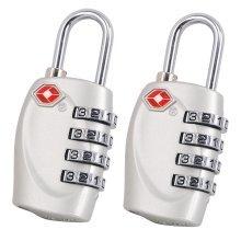 TRIXES Silver padlocks x2