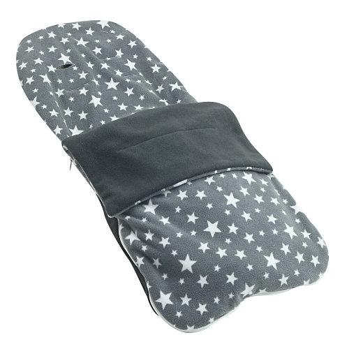 Snuggle Summer Footmuff Compatible With Cosatto Triton - Grey Star