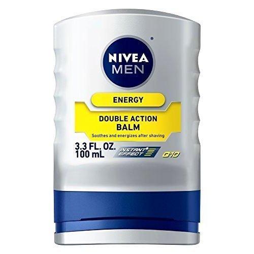 Nivea for Men Energy Doble Action Balm , 3.3 oz / 100 ml