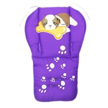 Cut Breathable Thicken Baby Strollers Mat Stroller Seat Liners - Dog