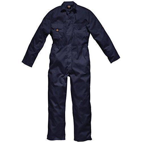 Dickies Coverall Overalls Boiler Suit Redhawk Stud Economy Mens Concealed Stud Front Two swing pockets Pen Pocket On Sleeve Two Chest Pockets With...