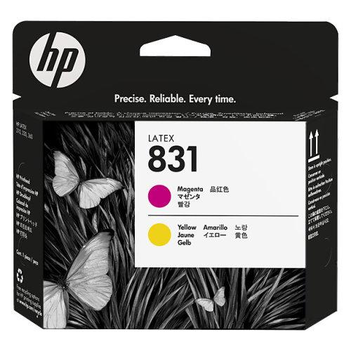 HP 831 Yellow and Magenta Printhead