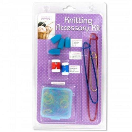 Bulk Buys OS352-6 Knitting Accessory Kit - 6 Piece