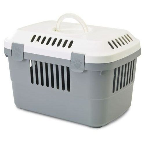 Discovery 1 Pet Carrier White/cold Grey 48.5x33x31.5cm (Pack of 4)