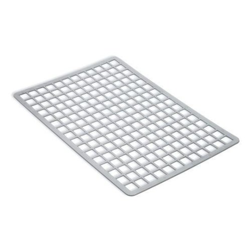 Addis Plastic Sink Mat - Metallic Silver