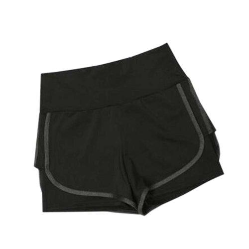 Women's Hot Elastic Waist Gym Pants Active Wear Lounge Shorts,#A 10