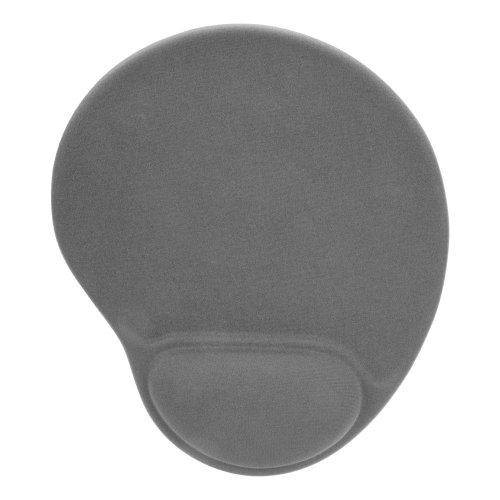 SPEEDLINK Vellu Mousepad with Gel Wristrest Support, Grey