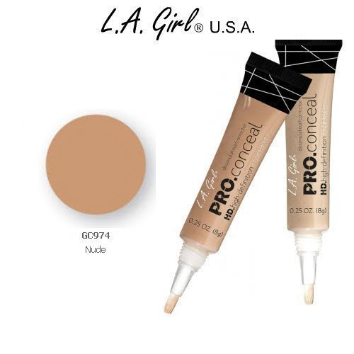 L.A. Girl Pro Conceal HD 974 Nude (2 Pack)