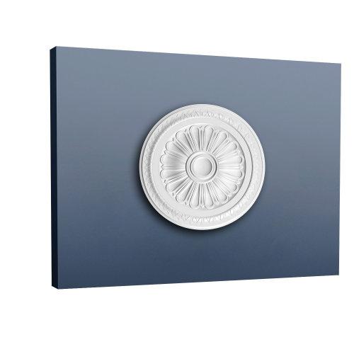 Orac Decor R14 LUXXUS Ceiling Rose Rosette Medallion | 33 cm diameter