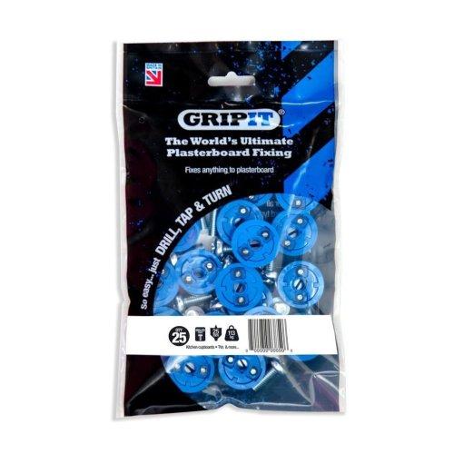 Gripit - Blue/25mm - Pack of 25