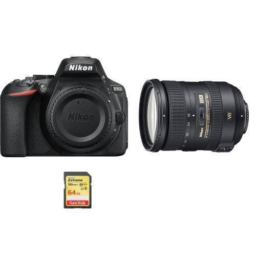 NIKON D5600+AF-S 18-200MM F3 5-5 6G ED VR II DX+SanDisk Extreme 64G SD