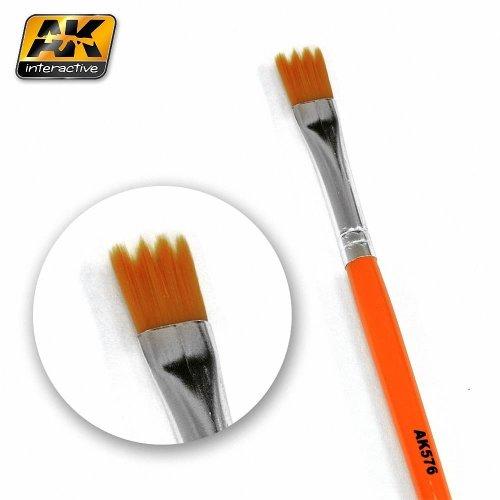 AK00576 - AK Interactive Brushes Weathering Brush Saw Shape