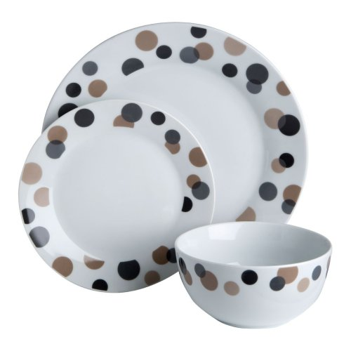 12Pc Luna Dinner Set