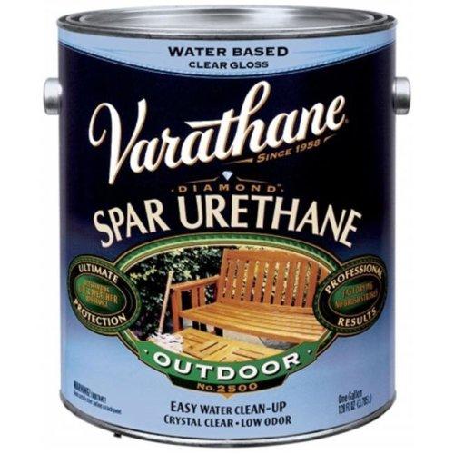 Rustoleum 1 Gallon Satin Water Based Outdoor Diamond Wood Finish  250231