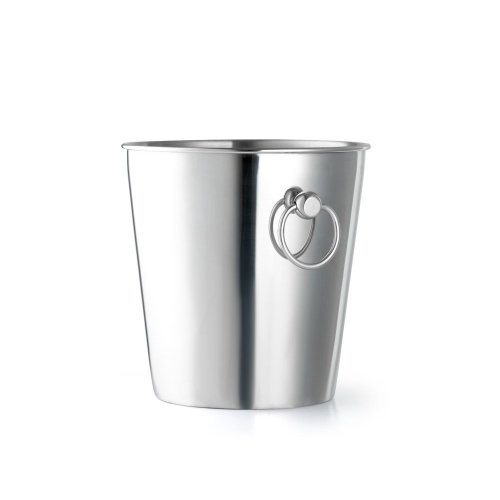 Leopold Vienna 200 x 202 mm Stainless Steel Polished Champagne Cooler, Silver
