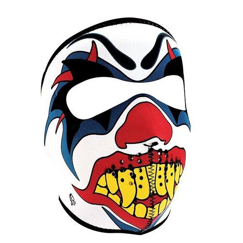 Full Face Ski Mask Neoprene - Mad Clown