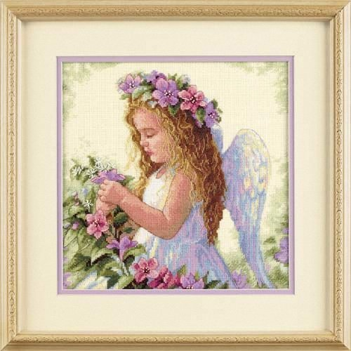 D35229 - Dimensions Counted X Stitch - Passion Flower Angel