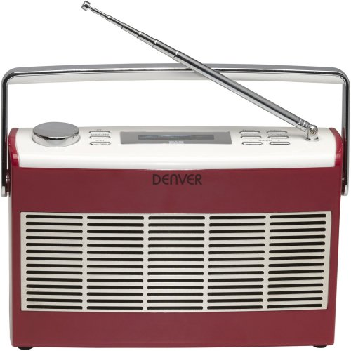 Denver DAB-37RED DAB+/FM radio with LCD display DAB-37RED