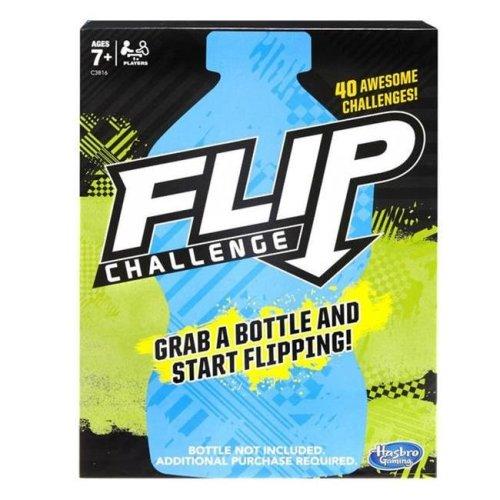 Hasbro HSBC3816 Dude Perfect Water Bottle Flip Challenge Game
