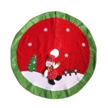 Christmas Tree Skirt Snowman Xmas Tree Skirt Christmas Decoration 80cm