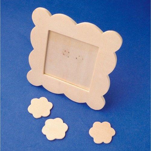 Pbx2470106 - Playbox - Paintable Frames - 10 X 10 Cm - 6 Pcs