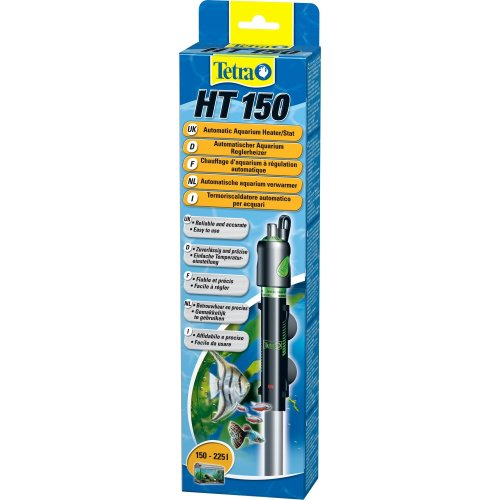Tetratec HT 150 Automatic Aquarium Heater/Stat (Assorted Colours) - ASRTD