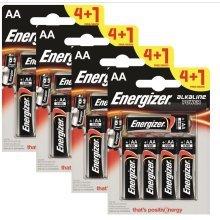 20 x Energizer AA Alkaline Power Plus Batteries LR6 MN1500 MIGNON STILO
