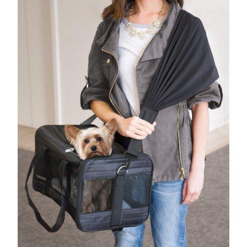 Sherpa Travel Pet Carrier Comfort Strap-Black