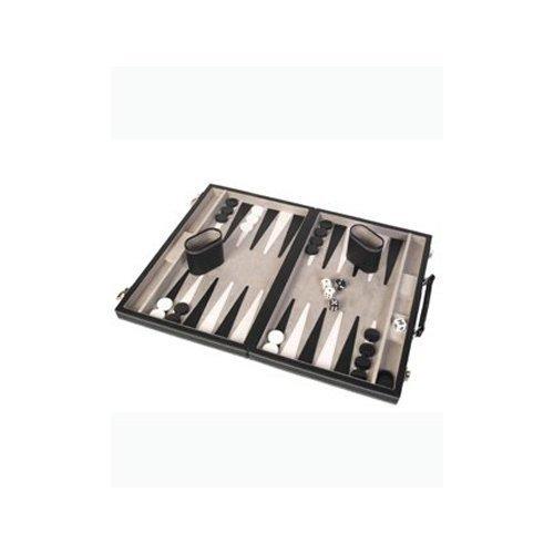"Backgammon Case Game, 12"", Black"
