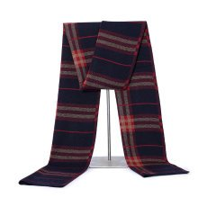 Knitted Patchwork Thicken Warm Scarves