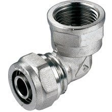 "16mm Pex-al-pex X 1/2"" Fpt Brass Pipe Fitting Elbow"