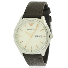 Emporio Armani Zeta Leather Mens Watch AR1999