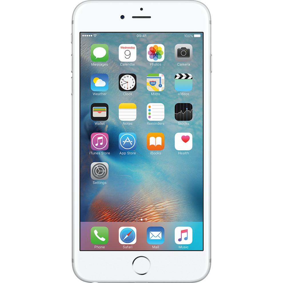 Virgin, 16GB Apple iPhone 6s Plus Silver