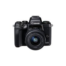 Canon EOS M5 Mirrorless Camera with EF-M 15 - 45 mm Lens - Black