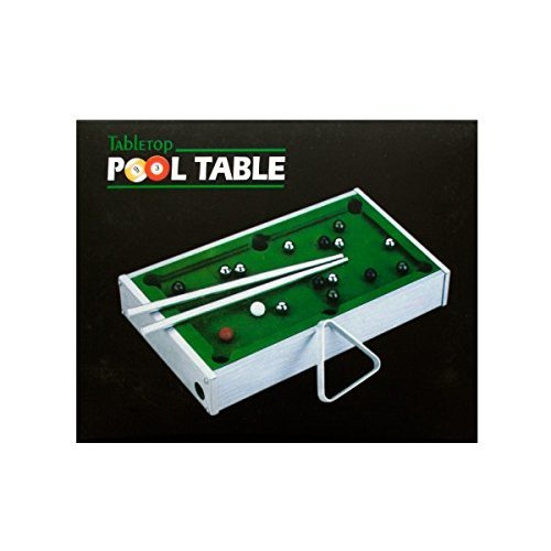 bulk buys OD797 Mini Tabletop Pool Table Green Silver