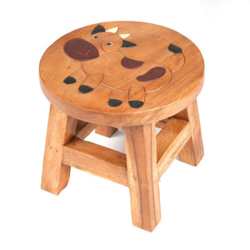 Childs Stool – Cow