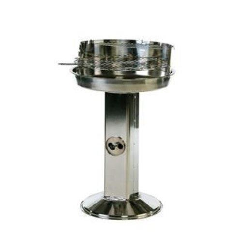 Stainless Steel Pedestal Bbq