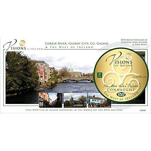 Visions Of Ireland - Corrib River, Galway City postcard DVD