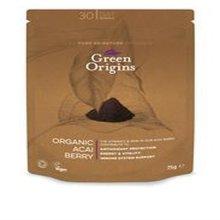 Green Origins Organic Acai Berry Powder (freeze Dried) 75g