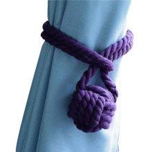 2 Pieces Curtain Ties Cotton Rope Curtain Tassel Curtain Tiebacks Curtain Holder