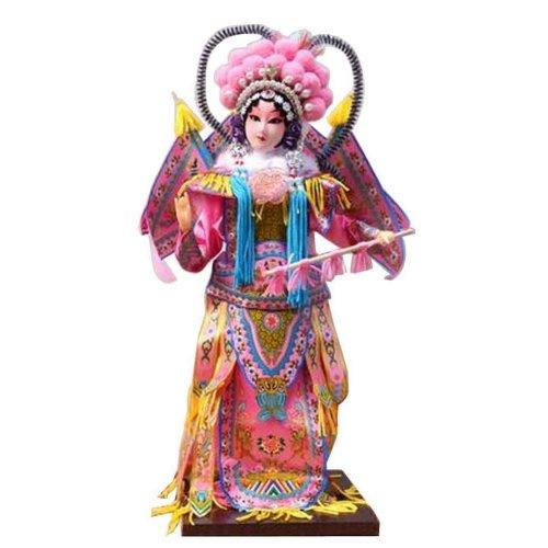 Traditional Chinese Doll Peking Opera Performer - Mu Gui Ying 05
