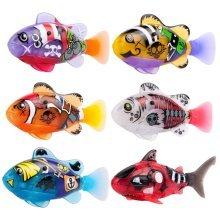 Kids Childrens Pirate Zuru Pet Battery Power Robotic Robo Fish Play Toys - -  robo fish pirate water toy electronic pet