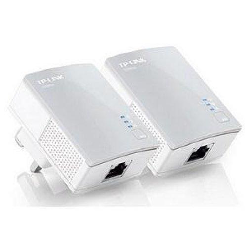 TP-LINK AV500 500Mbit/s Ethernet LAN White 2pc(s) PowerLine network adapter