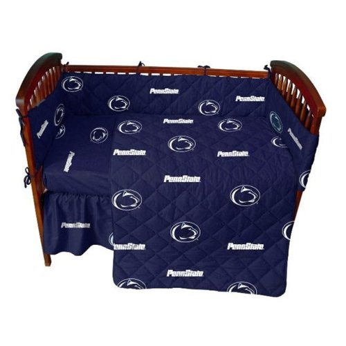 College Covers PSUCS Penn State 5 piece Baby Crib Set