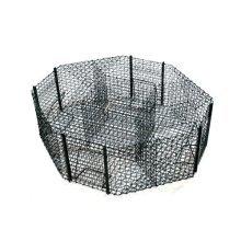 Live Bird trap - Octagonal - Plastic coated mesh - Wild bird pigeon Magpie trap - 100cm